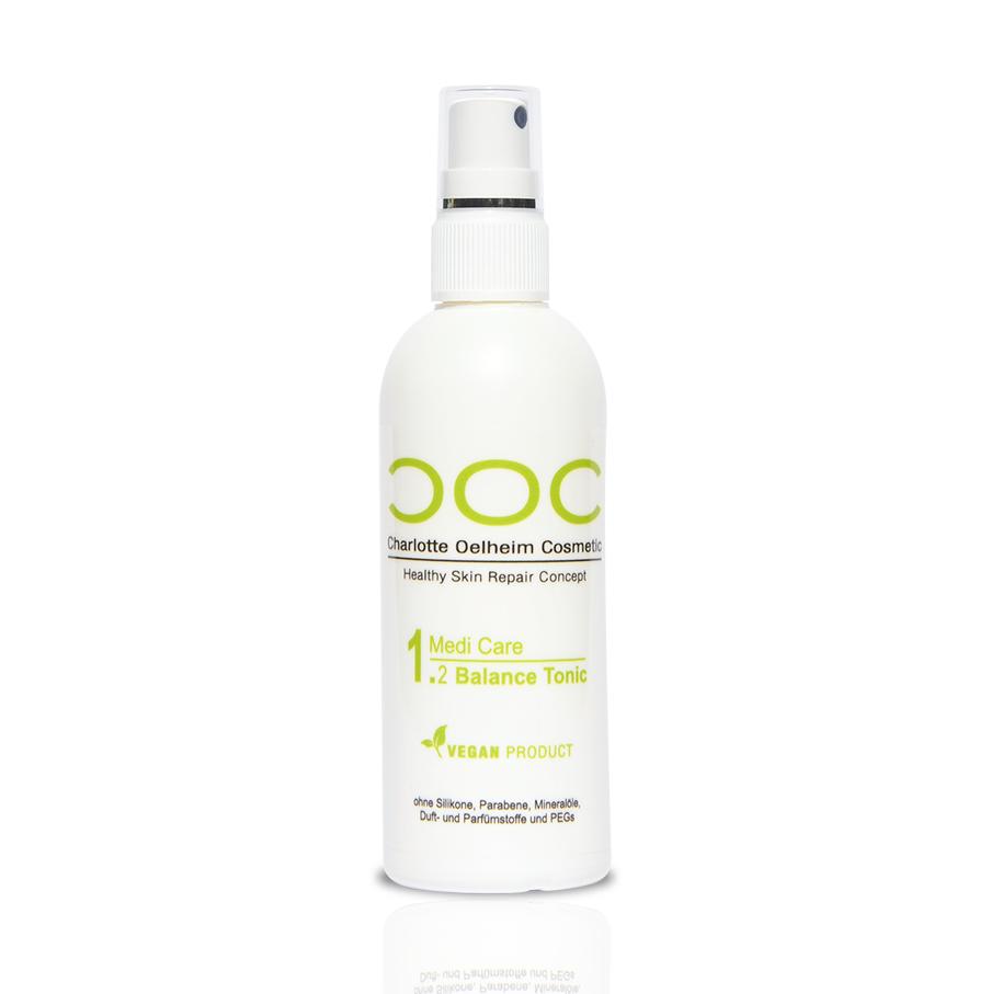 Eine Flasche COC Medi Care Balance Tonic